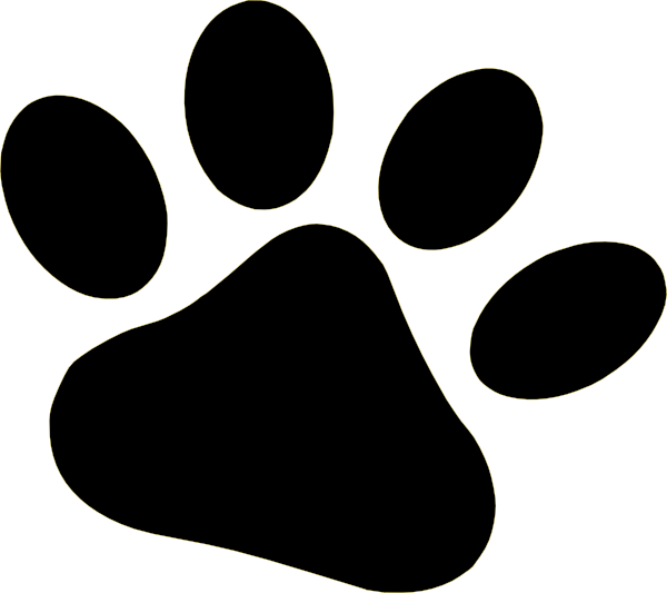 Dog feet clipart graphic transparent Cat Paw Clip Art | Clipart Panda - Free Clipart Images graphic transparent