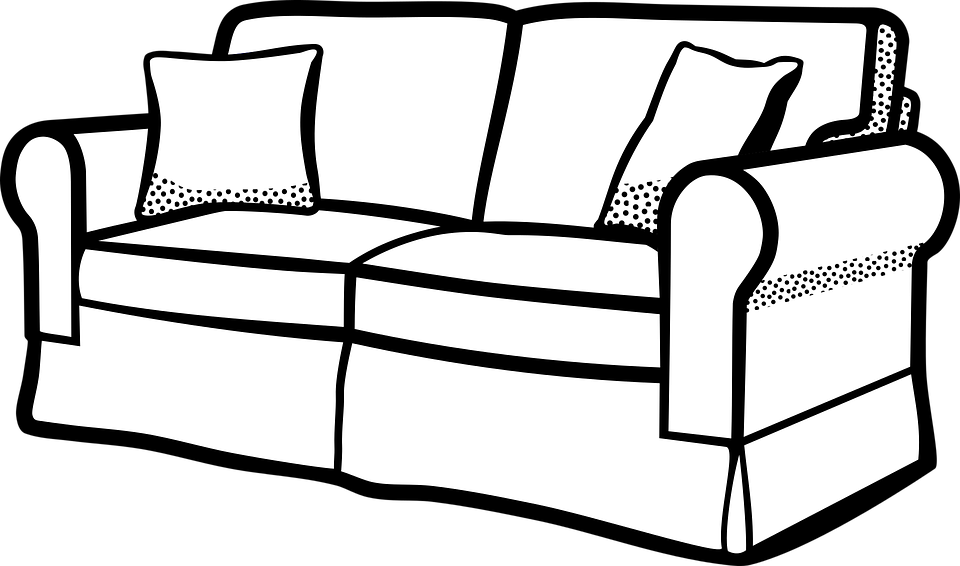 Cat climbing structure clipart black and white banner transparent library Furniture Clipart Black And White | Free download best Furniture ... banner transparent library