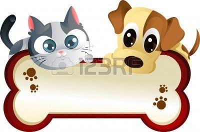 Cat clipart banner clip stock Stock Vector   paws to read art   Cartoon dog, Cat clipart, Cat vector clip stock