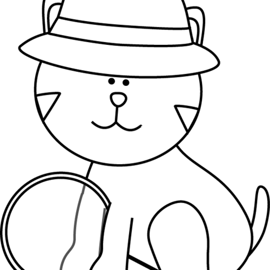 Cat clipart black and white freeuse library Cat Clipart Black And White banner clipart hatenylo.com freeuse library