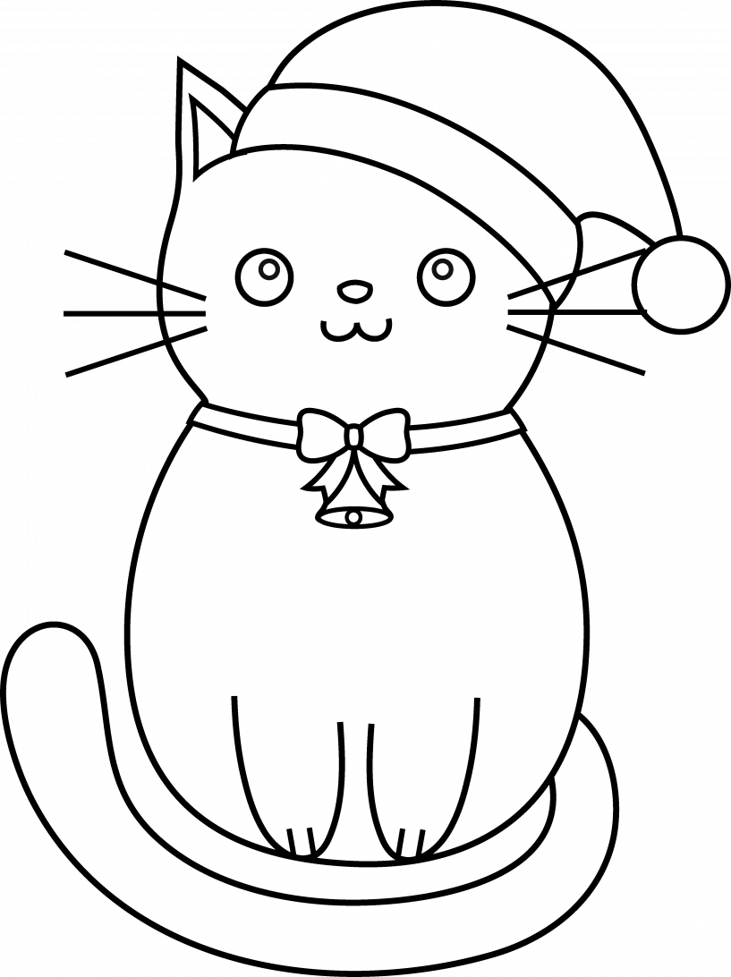 Cat clipart christmas png royalty free stock Christmas Cat Clipart   jokingart.com Cat Clipart png royalty free stock