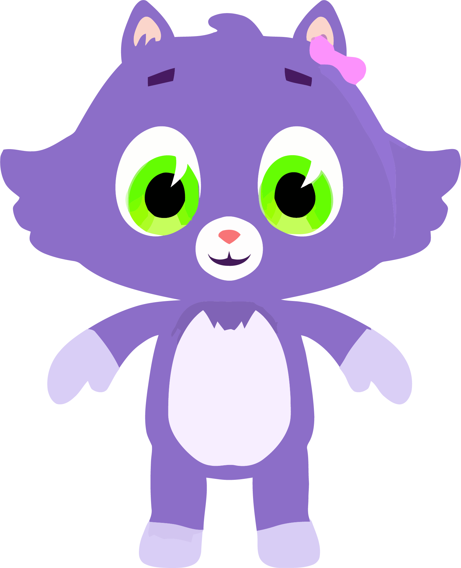 Silly cat clipart png free library Medium Purple Cute Cat Clipart Png Download - Clipartly.comClipartly.com png free library