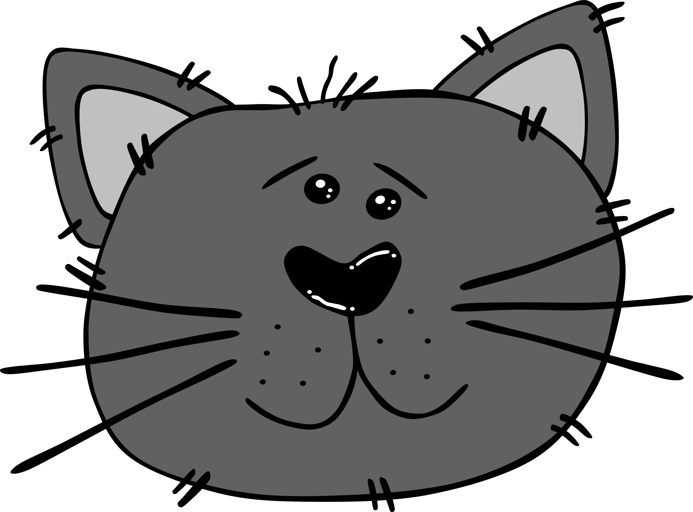 Clipart cat face clip art library download Clipart - Cartoon Cat Face clip art library download