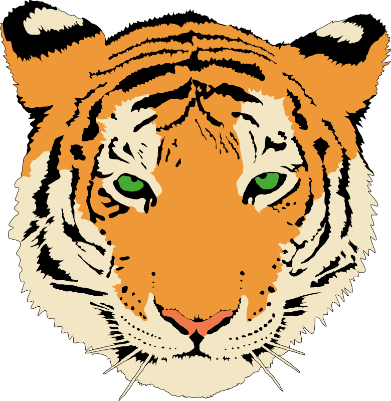Tiger cat clipart graphic freeuse library Free Tiger Clipart at GetDrawings.com | Free for personal use Free ... graphic freeuse library