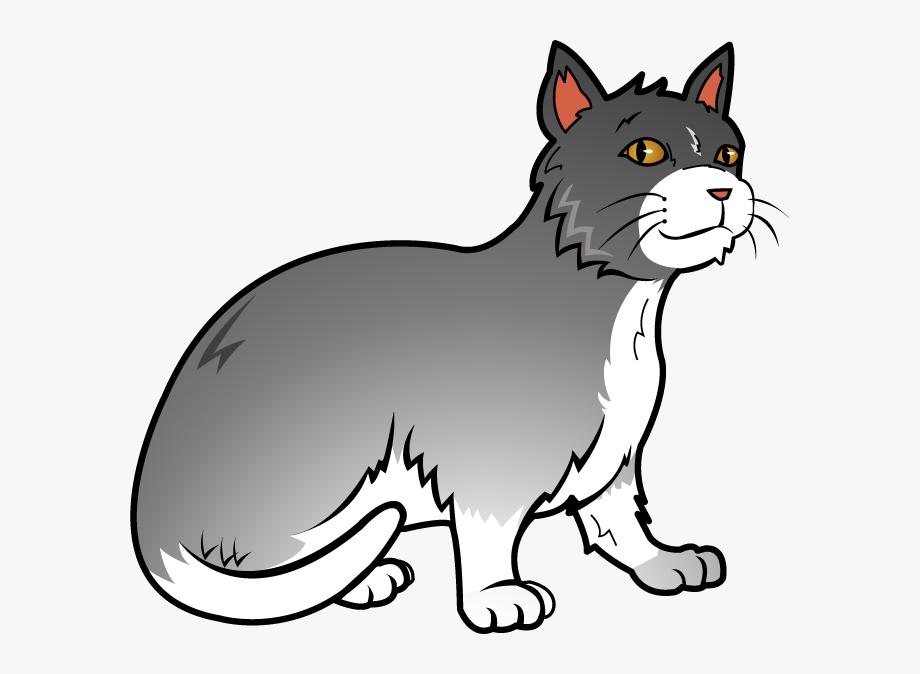 Cat clipart images free graphic transparent library Free Art Clip Of Cat Clipart - Transparent Cat Clipart #493 - Free ... graphic transparent library