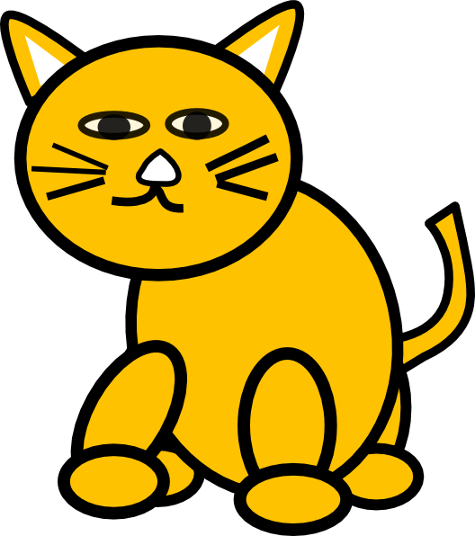 Groovy cat clipart jpg Cat Round Clip Art at Clker.com - vector clip art online, royalty ... jpg