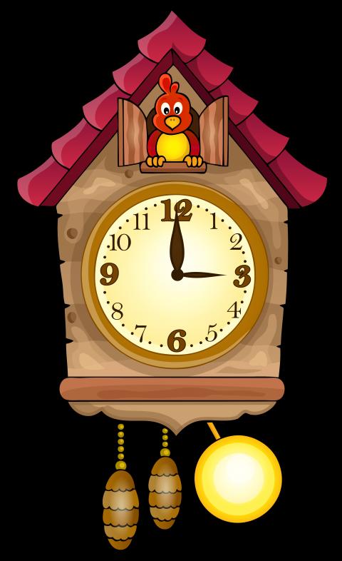 Cat clock clipart free download cute cuckoo clock png - Free PNG Images   TOPpng free download