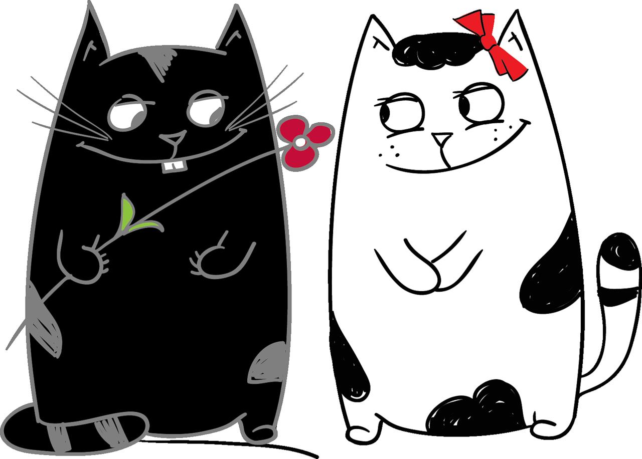 Tuxedo angel cat clipart vector freeuse stock прикольные котики рисунки: 20 тыс изображений найдено в Яндекс ... vector freeuse stock