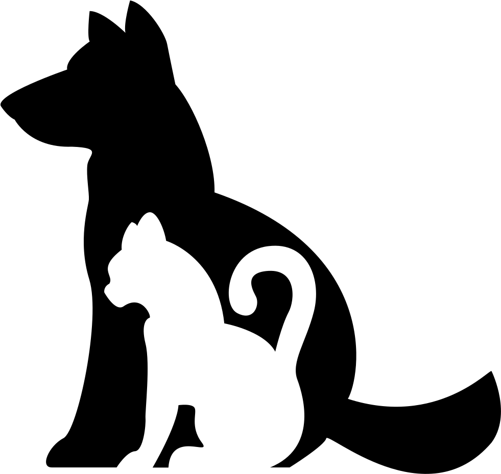 Cat icon clipart graphic library download Dog And Cat Silhouette Clip Art Free at GetDrawings.com | Free for ... graphic library download