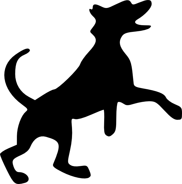 Dog school clipart png royalty free library Jumping Dog Clip Art at Clker.com - vector clip art online, royalty ... png royalty free library