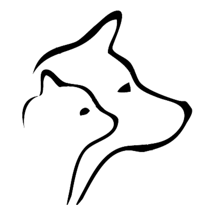 Dog cat heart clipart vector black and white library Mountain Tails Animal Rescue vector black and white library