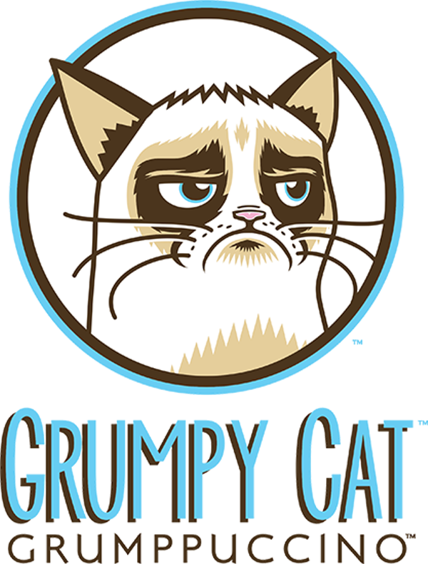 Cat drinking coffee clipart png transparent library Grumpy Cat gets her own drink: Grumpuccino | Blogs png transparent library