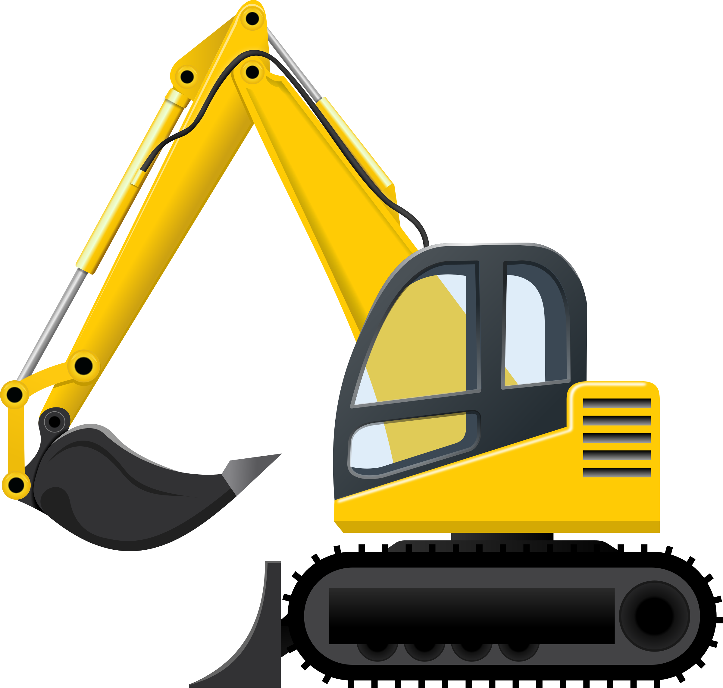 Cat excavator clipart banner free 28+ Collection of Excavator Clipart | High quality, free cliparts ... banner free