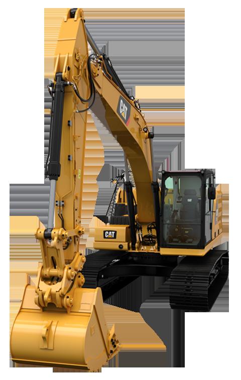 Cat excavator clipart picture free stock NEXT GENERATION EXCAVATOR - MONARK picture free stock