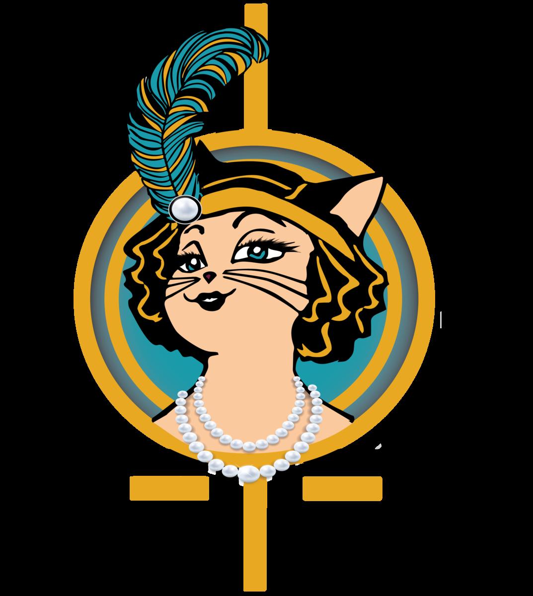Kawaii black cat clipart vector free library Black Cat Lashes vector free library