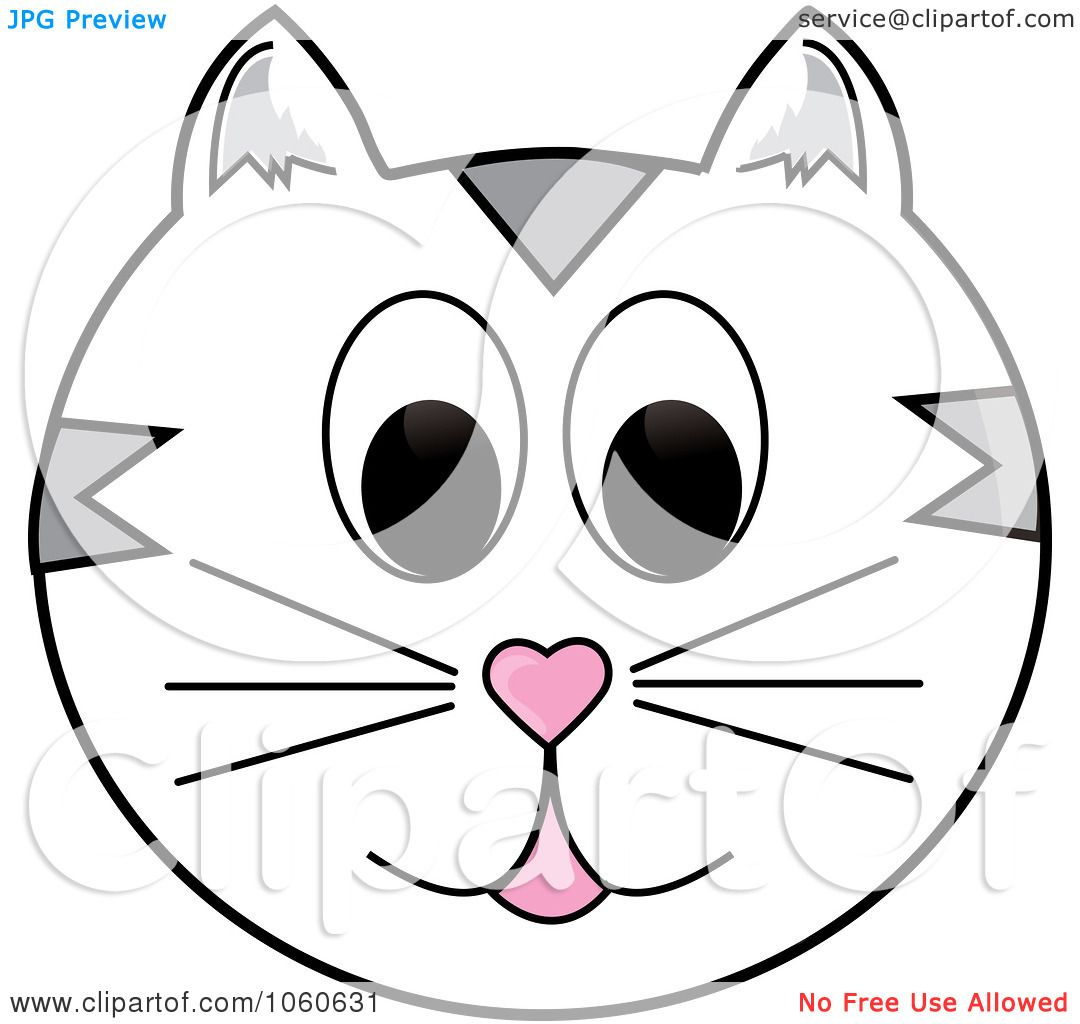 Cat face clipart free vector free Cat Face Clipart | Free download best Cat Face Clipart on ClipArtMag.com vector free