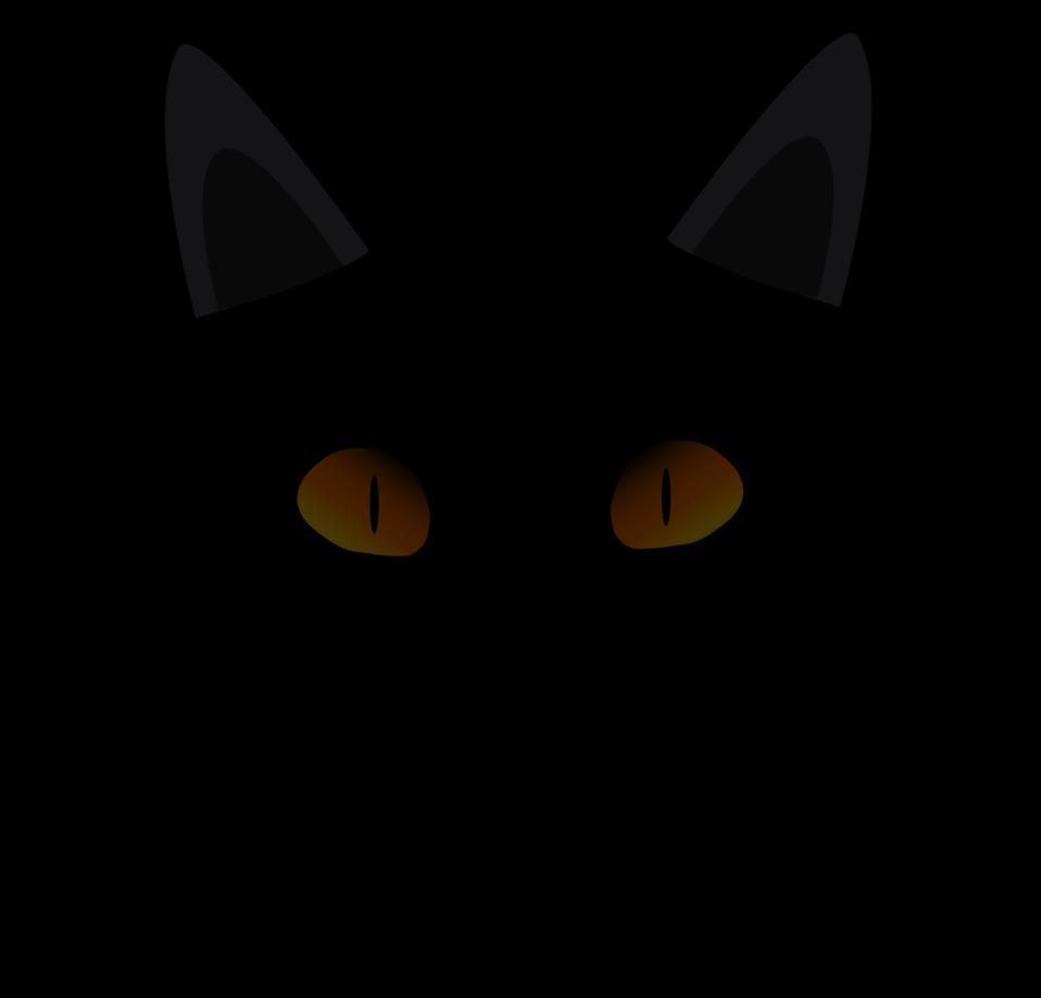 Cat face clipart transparent transparent Public Domain Clip Art Image | Black Cat Face | ID: 13925116215583 ... transparent