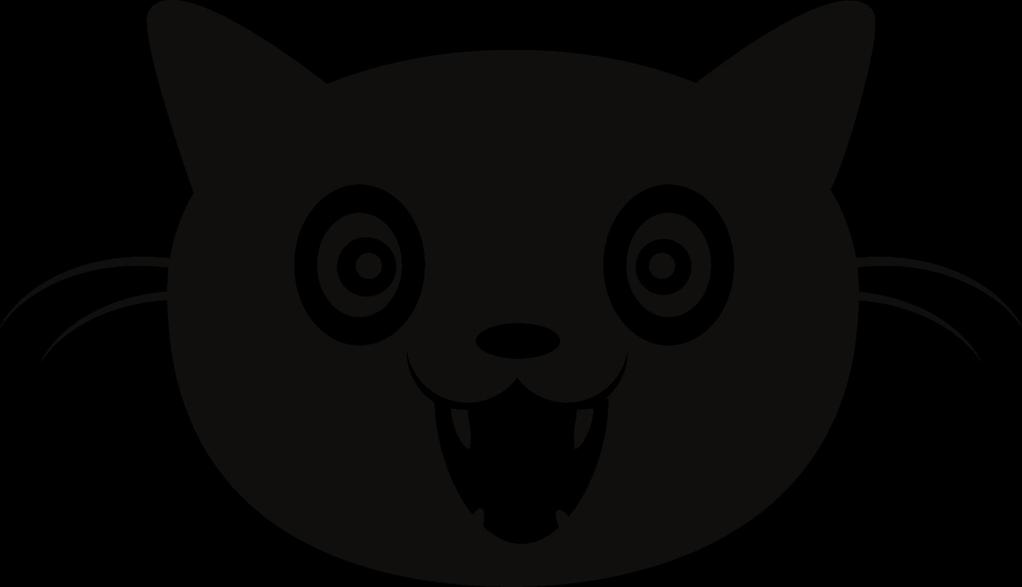 Cat face clipart transparent image royalty free library File:Internet Defense League logo - cat face.svg - Wikimedia Commons image royalty free library