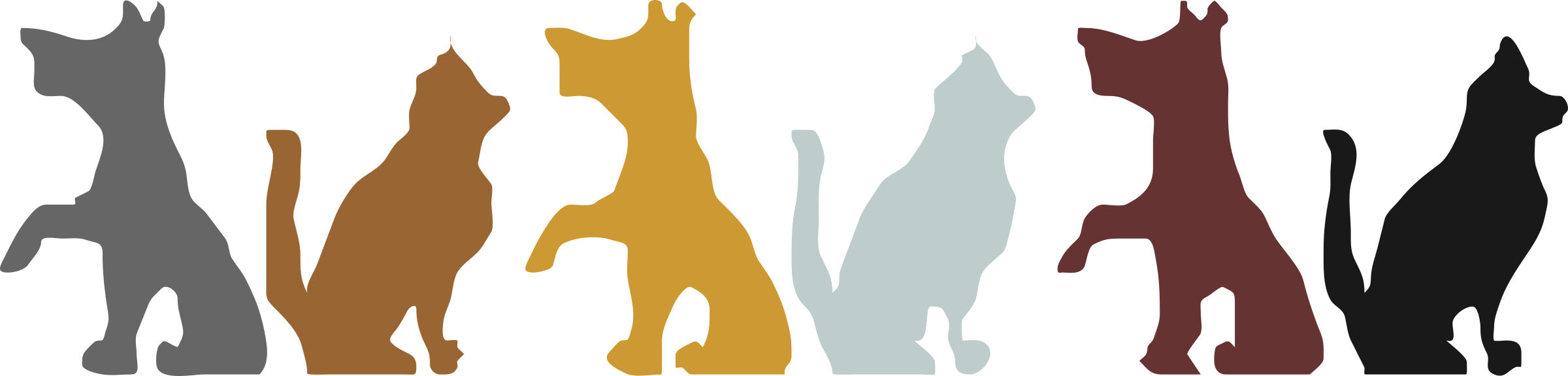 Cat and free at. Dog frame clipart
