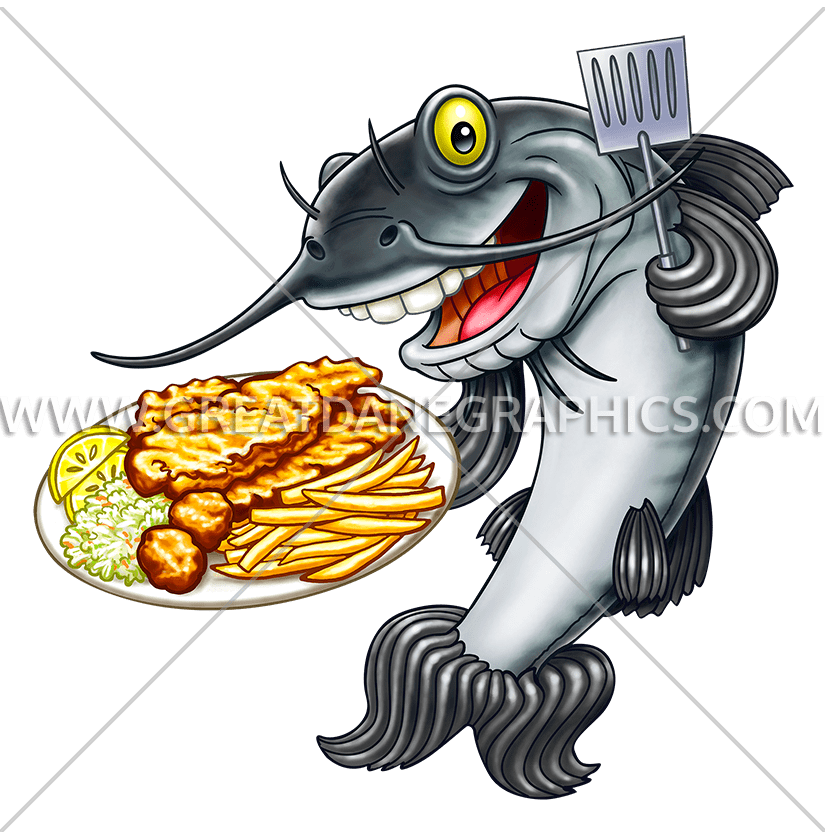 Cook fish clipart png freeuse Fish Fry Catfish | Production Ready Artwork for T-Shirt Printing png freeuse