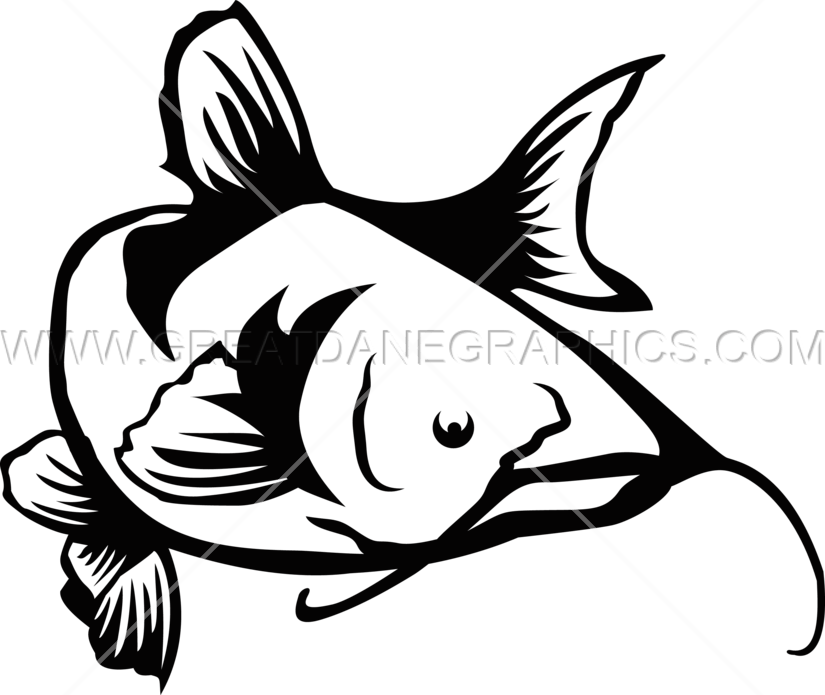 Cat fish clipart svg free Catfish Swim | Production Ready Artwork for T-Shirt Printing svg free