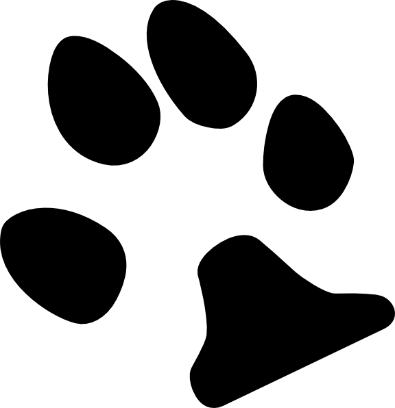 Dog footprint clipart clip art transparent stock Dog Paw Print Clip Art Free Download | Clipart Panda - Free Clipart ... clip art transparent stock