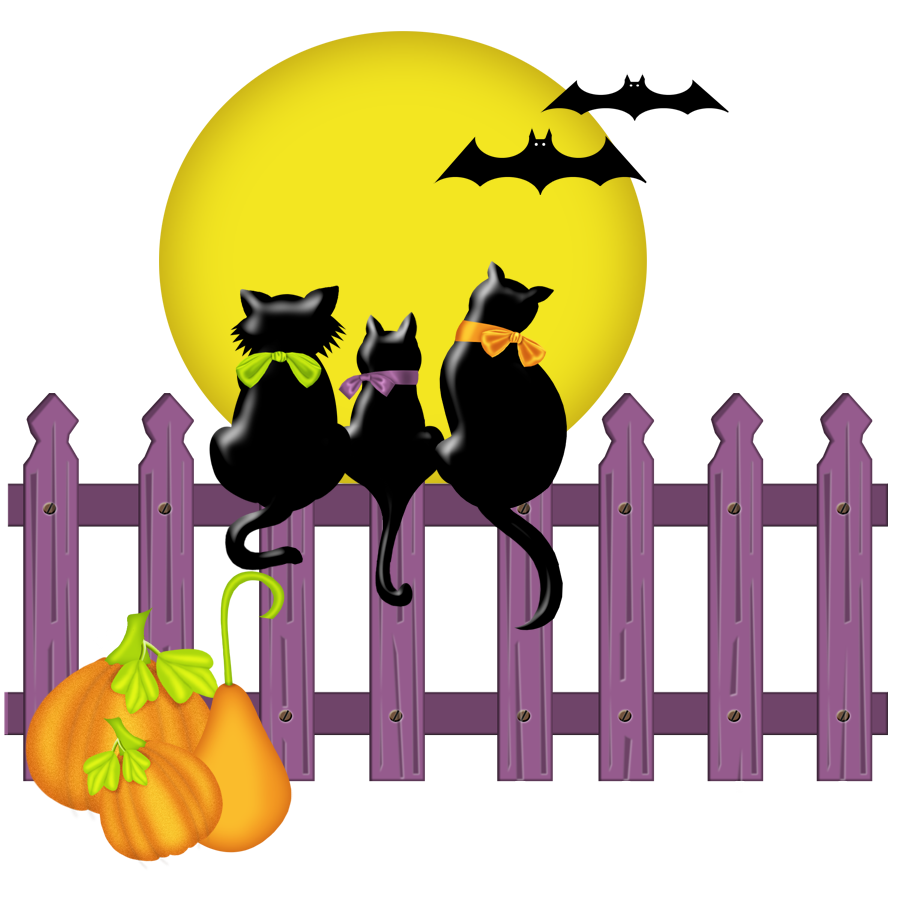 Yellow cat clipart vector library Halloween Cat Clipart at GetDrawings.com | Free for personal use ... vector library