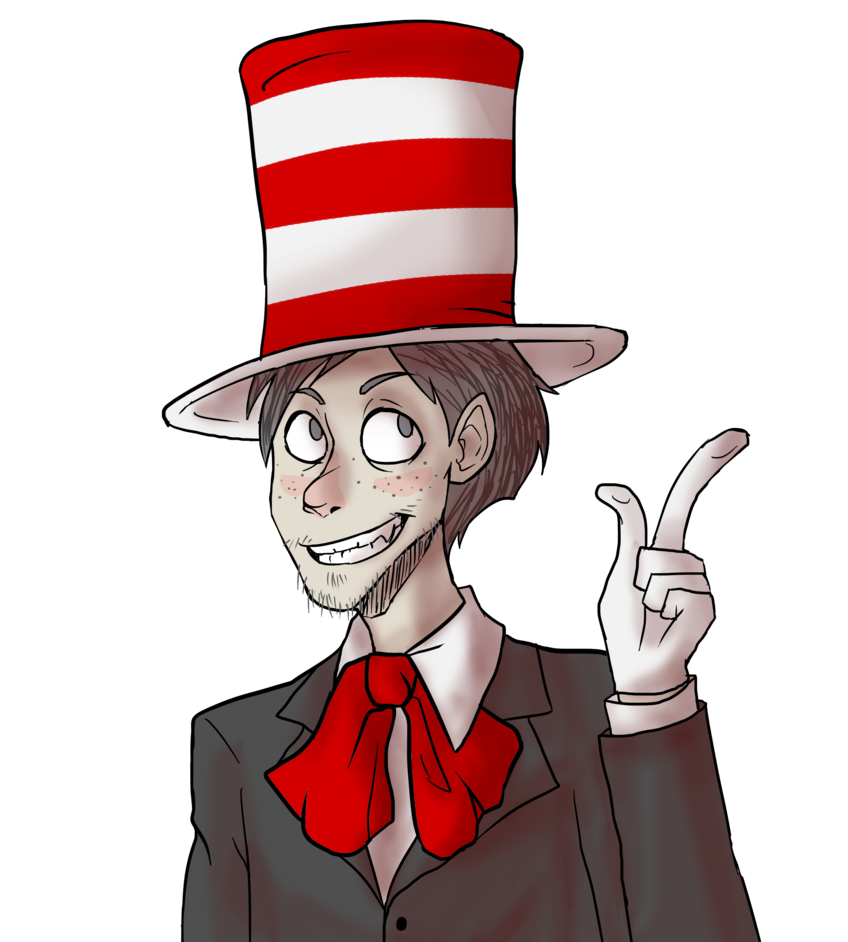 Cat hat type people clipart jpg freeuse Pat, the Cat in the Hat by NEOmi-triX on DeviantArt jpg freeuse
