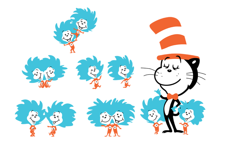 Cat hat type people clipart picture The Cat in the Hat — Design of Today picture
