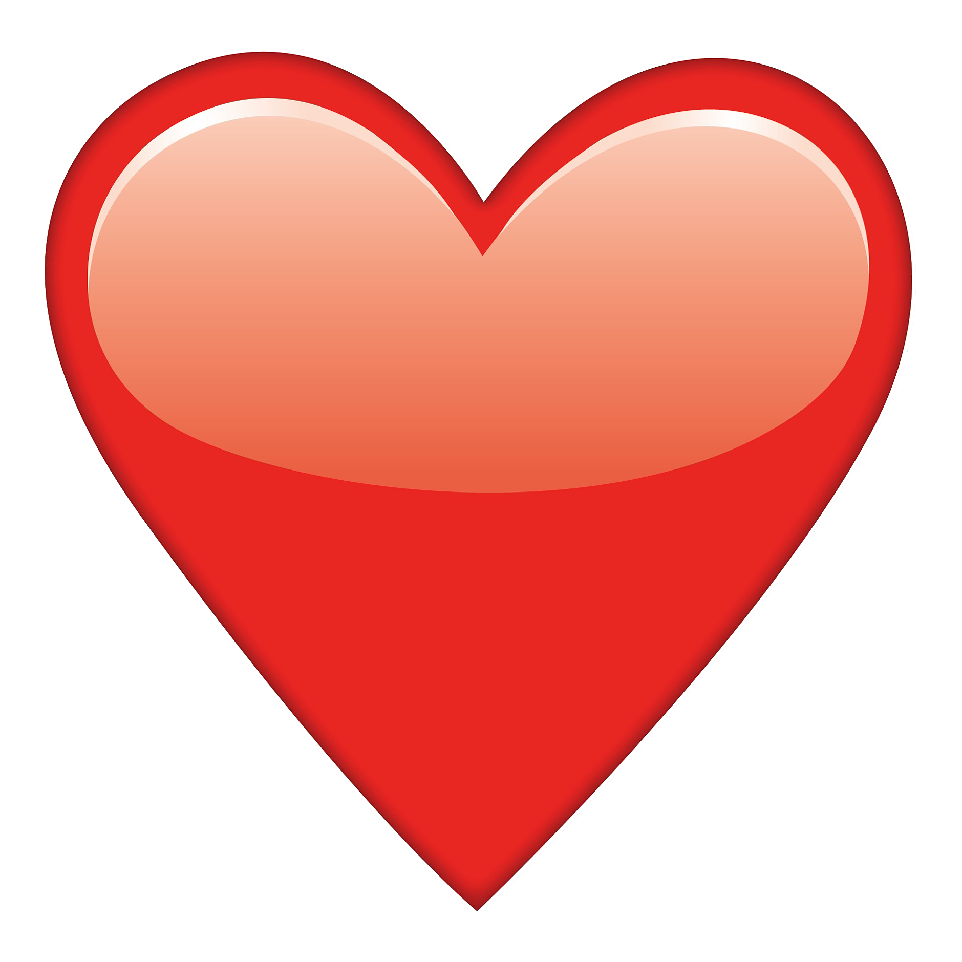 Heart eyes clipart picture free download Red Heart Emoji picture free download