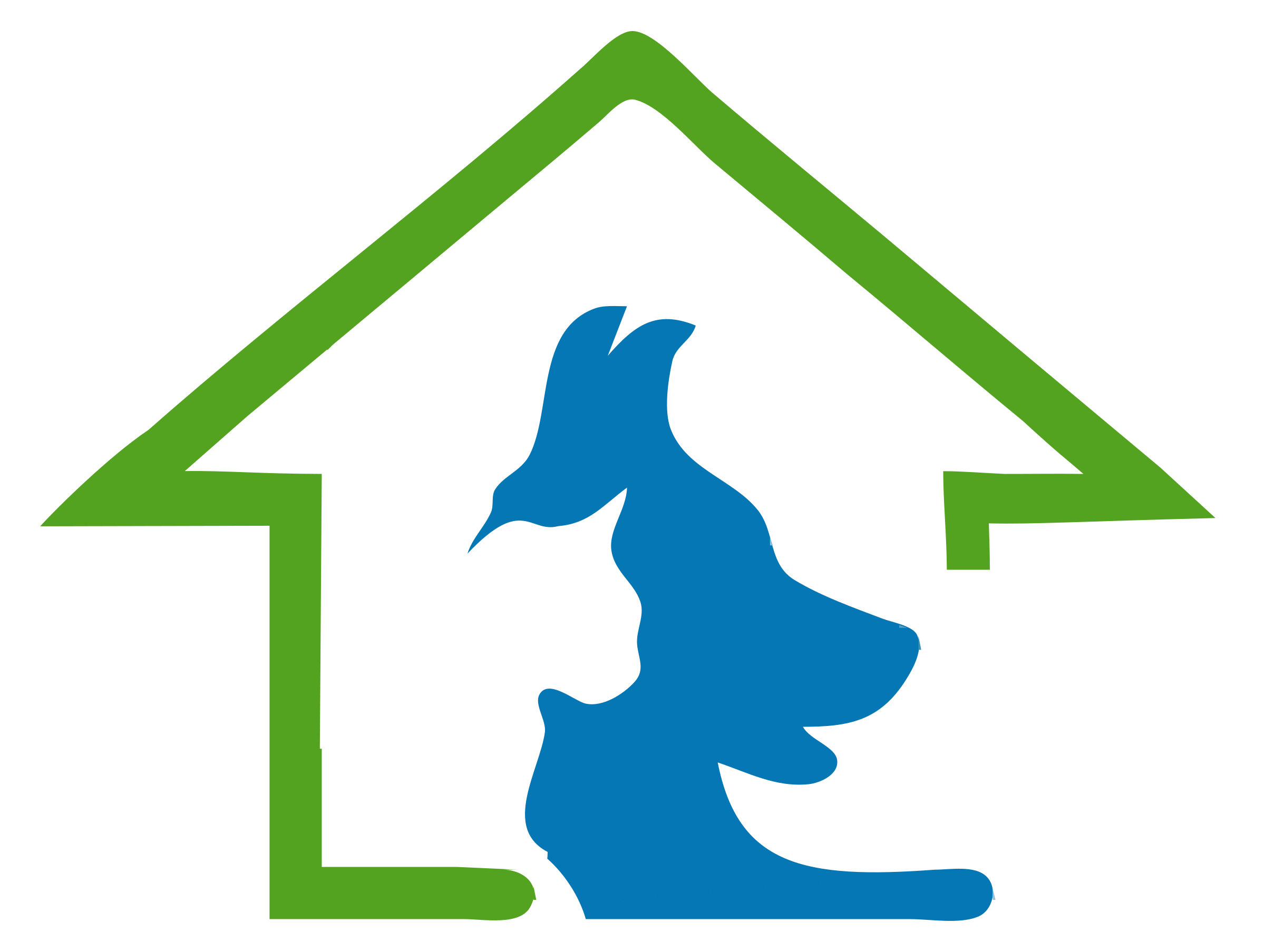 House logo clipart banner freeuse Clipart - Dog and Cat House banner freeuse