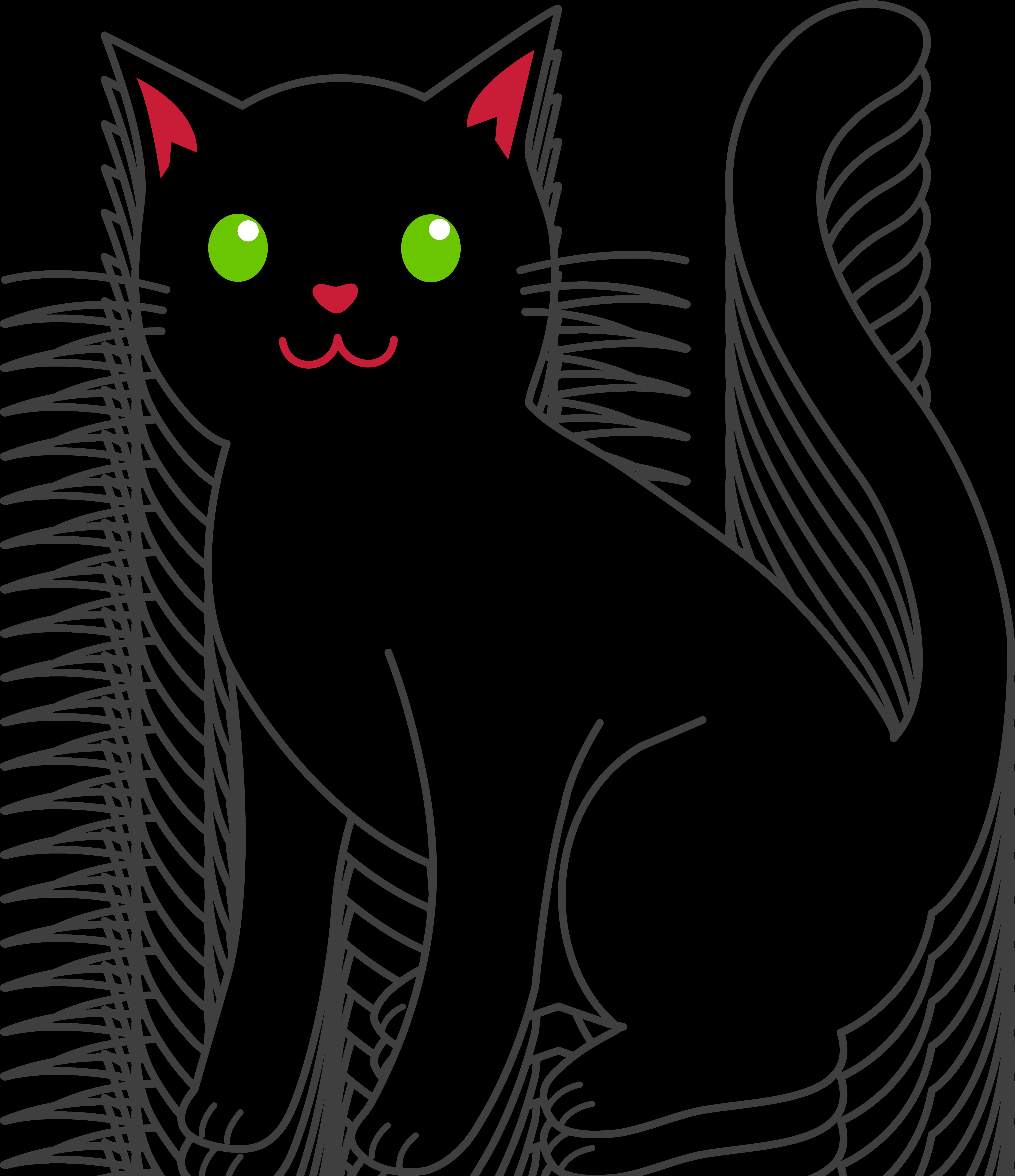 Black cartoon cat clipart vector download Two Cats Clipart | Free download best Two Cats Clipart on ClipArtMag.com vector download