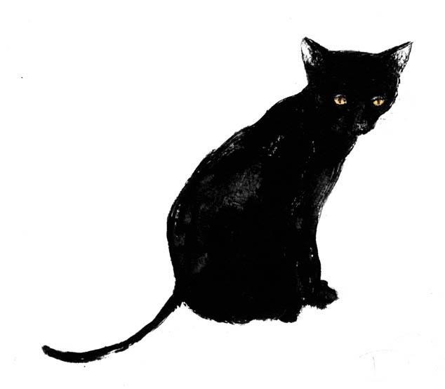 Cat illustrations clipart jpg transparent stock Free Black Cat Illustrations, Download Free Clip Art, Free Clip Art ... jpg transparent stock