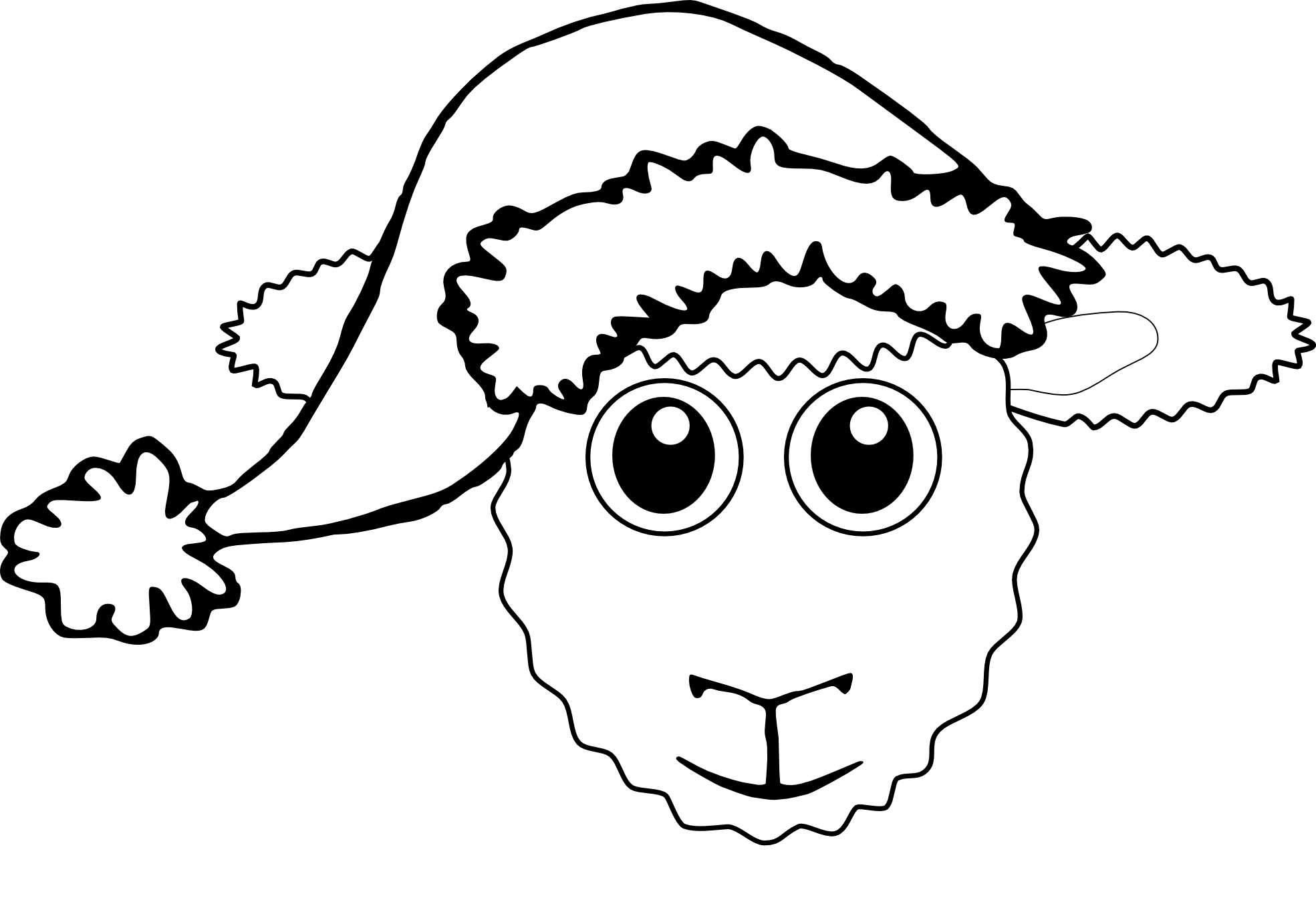 Cat in the hat black and white clipart banner library download Drawn Santa Hat black and white - Free Clipart on Dumielauxepices.net banner library download