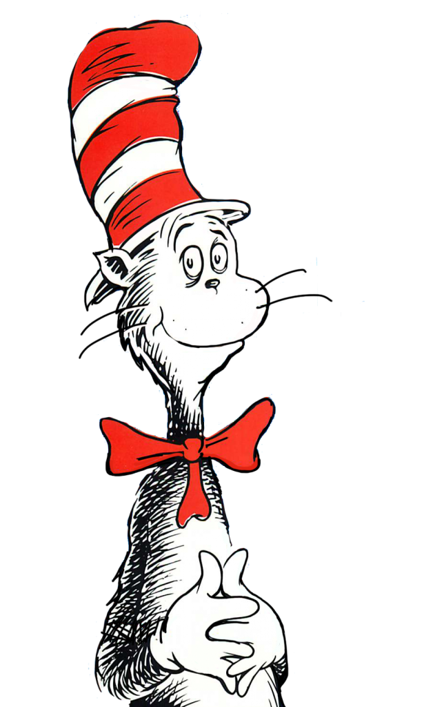 Cat in the hat black and white clipart free stock Free Cat In The Hat Clip Art Pictures - Clipartix free stock