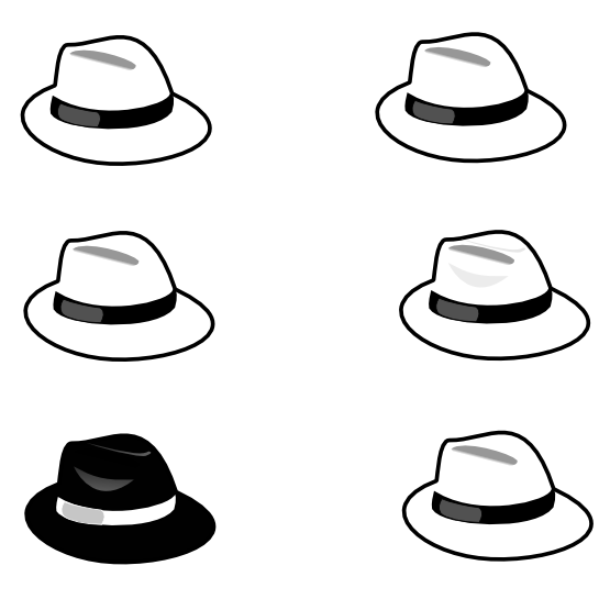 Cat in the hat clipart black and white image library Pirate Hat Clipart Black And White | Clipart Panda - Free Clipart Images image library