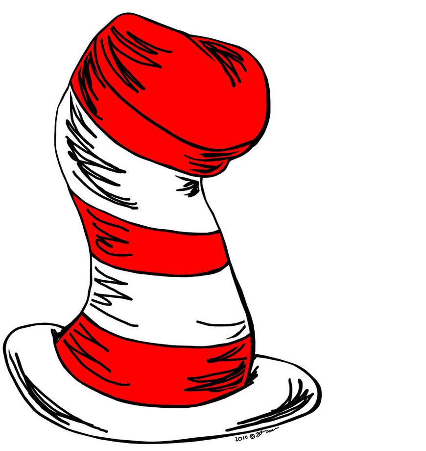 Cat in the hat clipart graphics graphic black and white library 39+ Cat In The Hat Clipart | ClipartLook graphic black and white library