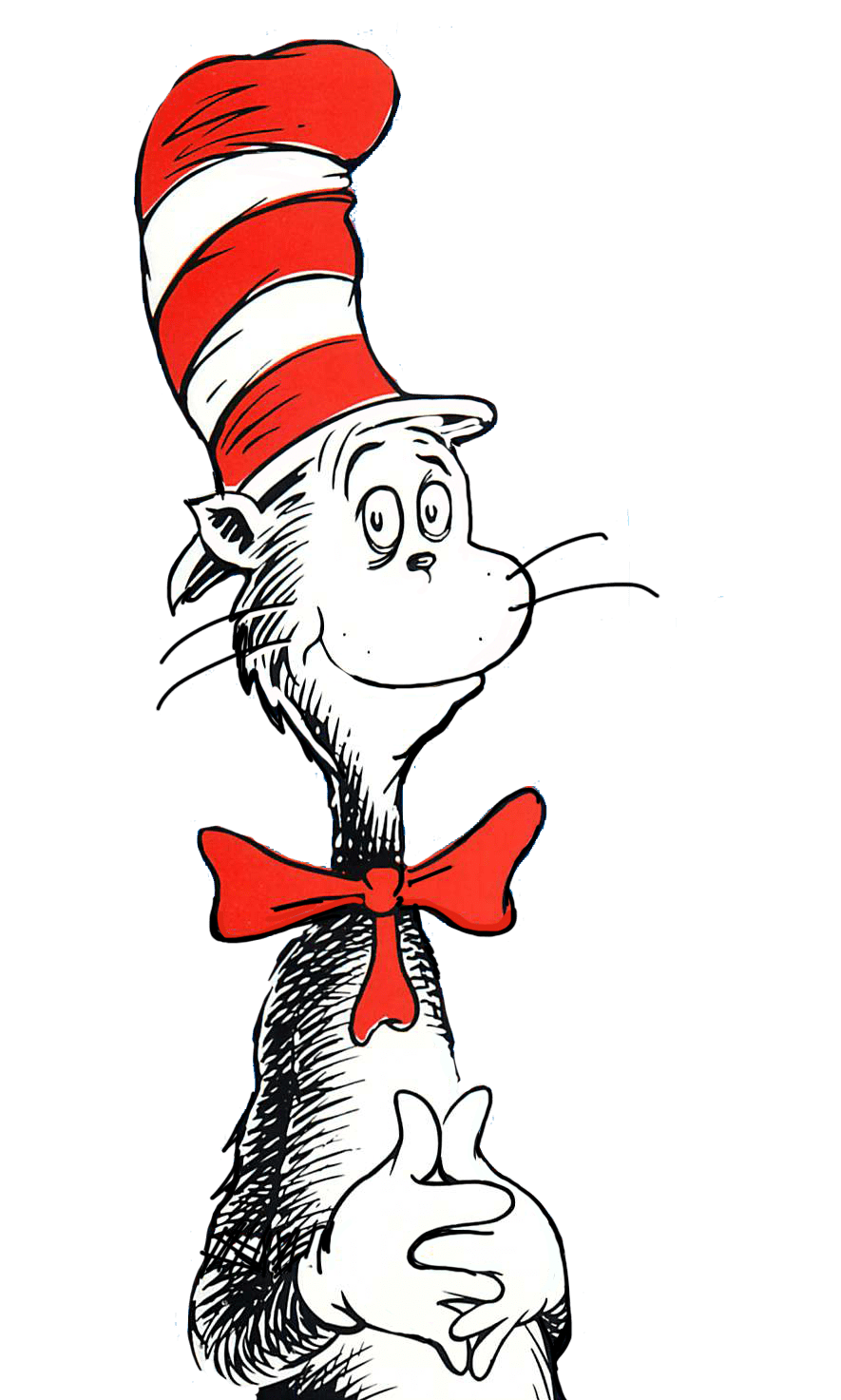 Cat transparent clipart png royalty free Dr Seuss Cat transparent PNG - StickPNG png royalty free