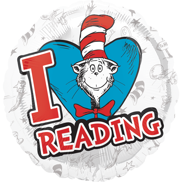 Cat in the hat reading clipart clip art black and white Cat in the Hat/Dr Seuss Birthday Party Supplies Canada - Open A Party clip art black and white