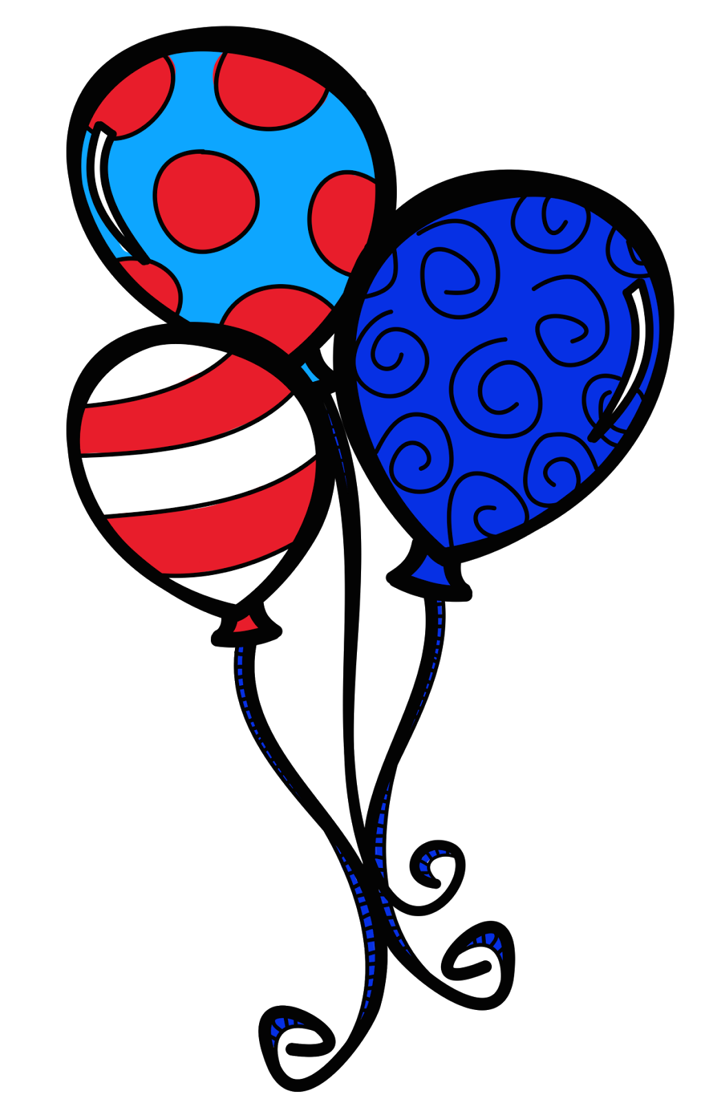 Cat in the hat tie clipart graphic freeuse Dr Seuss Balloon Clipart | ryders 1st party | Pinterest graphic freeuse