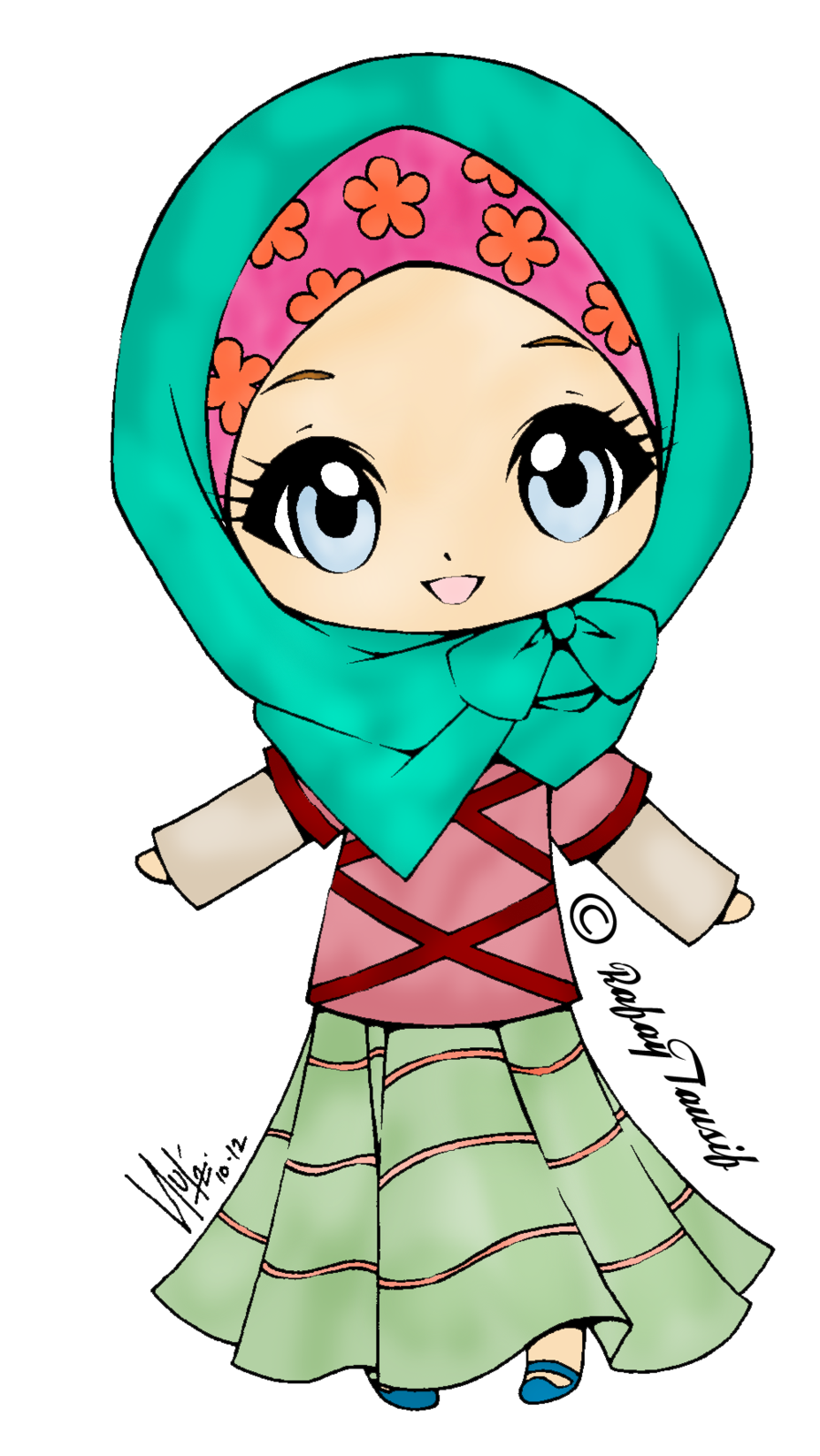 Flower crown on girl clipart clip free library Anime Clipart Lady Free collection | Download and share Anime ... clip free library