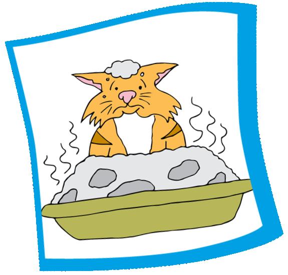 Cat litter box clipart svg library stock Mid Atlantic Cat Hospital Blog - Litterbox Issues/Avoidance svg library stock