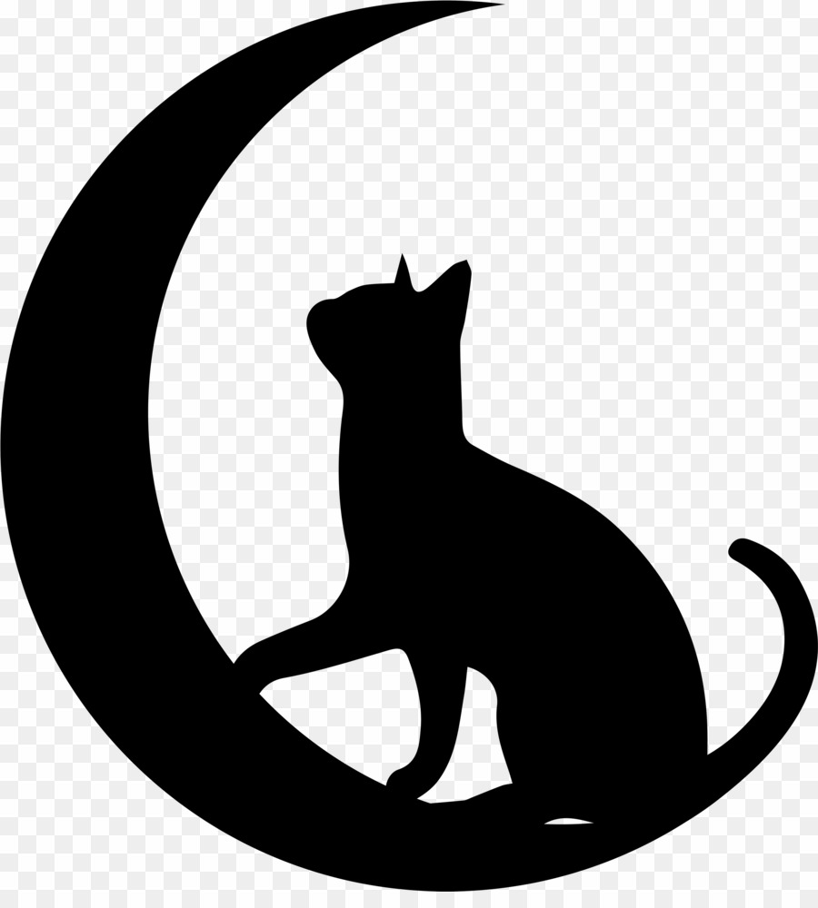 Cat logo clipart png freeuse library Cat Moon Logo PNG Cat Logo Clipart download - 2891 * 3155 - Free ... png freeuse library