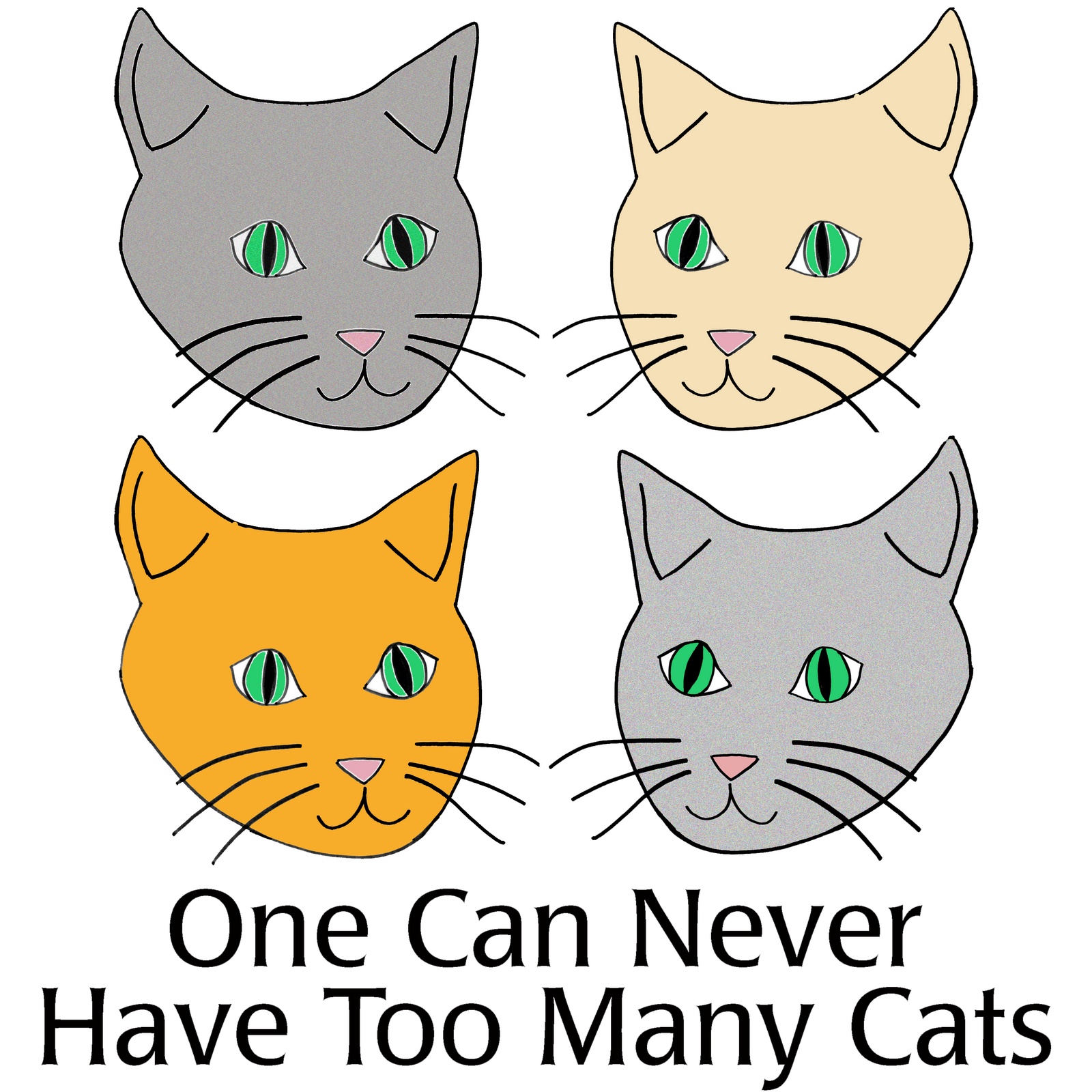 Cat meowing clipart svg free stock The Very Best Cats: New Design at Meow Meow Bow Wow Gifts svg free stock
