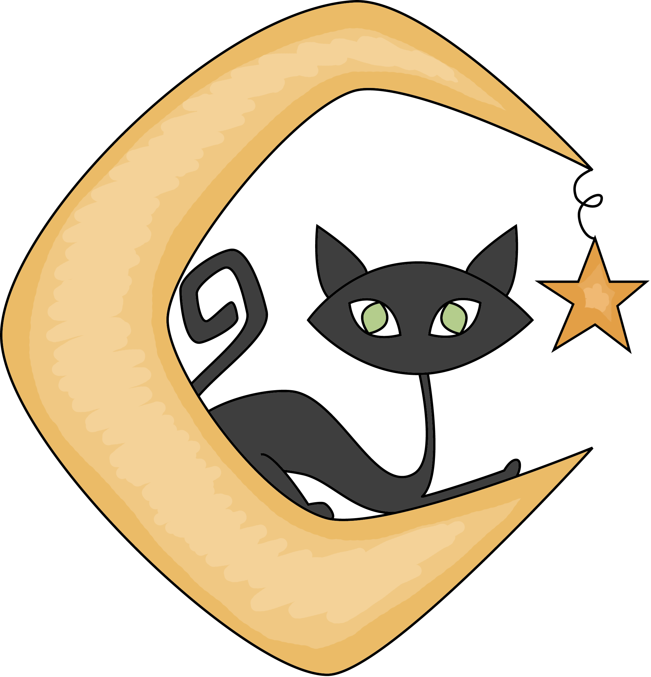 Cat moon clipart picture download Index of /images/scrappin_doodles/holiday_boo_crew_2 picture download