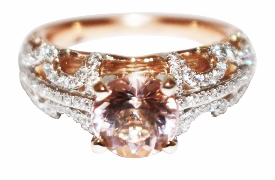 Cat morganite clipart svg freeuse Unique Elegant Natural Morganite Diamond 3-d 2 Layers - Engagement ... svg freeuse