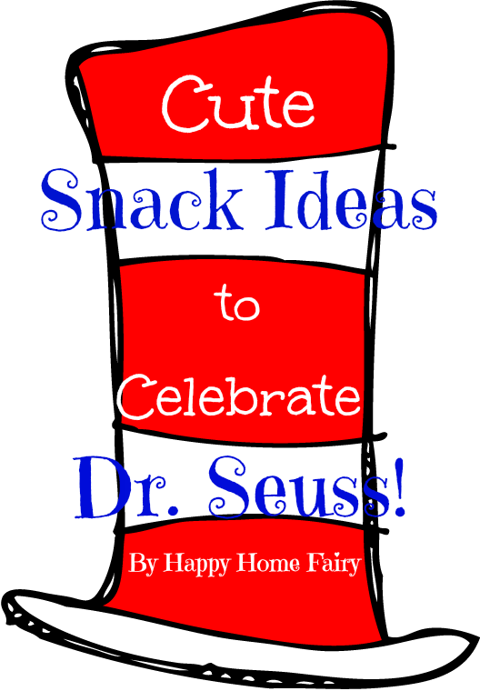 Dr seuss baby shower red fish clipart vector free Cute Snack Ideas to Celebrate Dr. Seuss! - Happy Home Fairy vector free