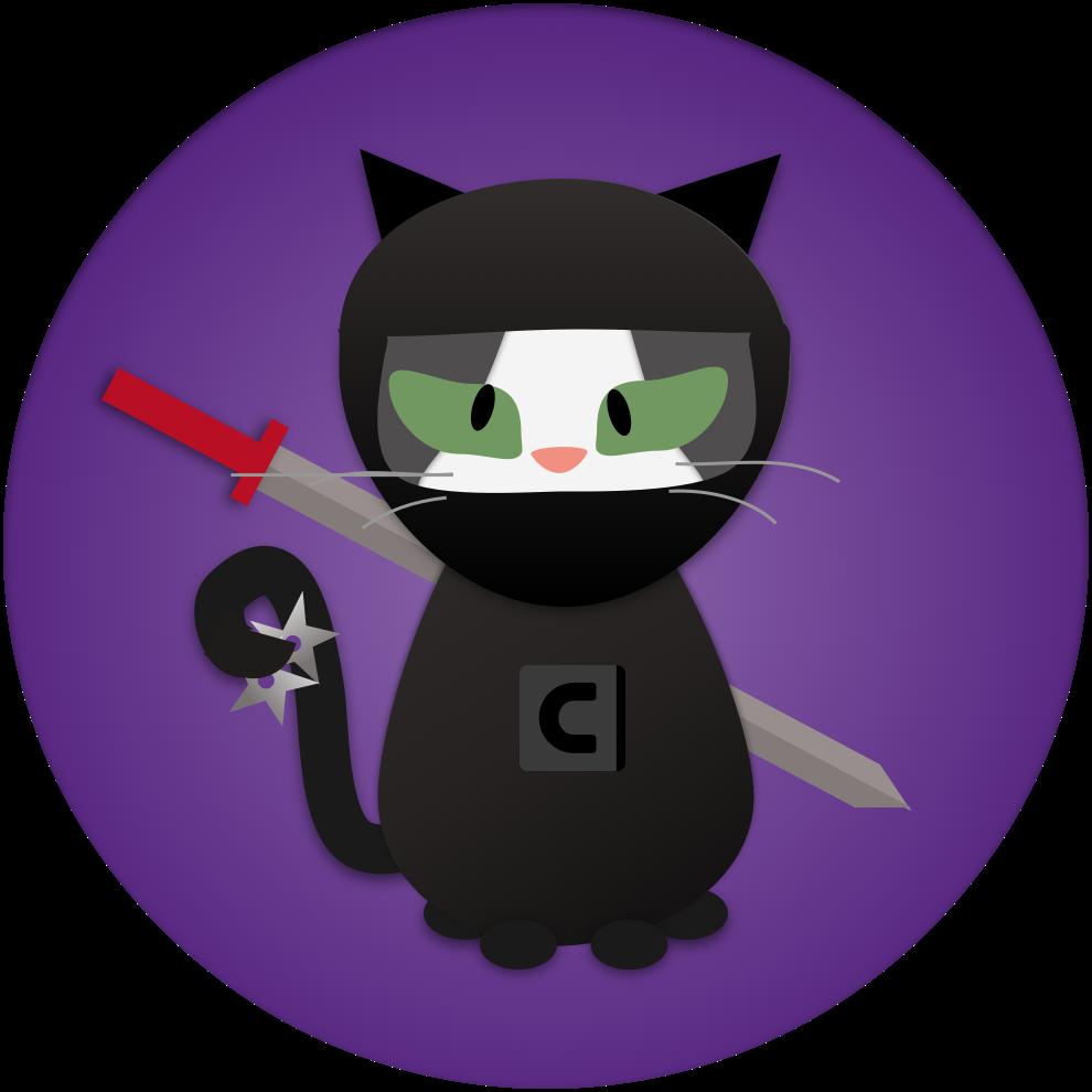Imaginary purple cat clipart picture free library Cats by Contrast Security picture free library