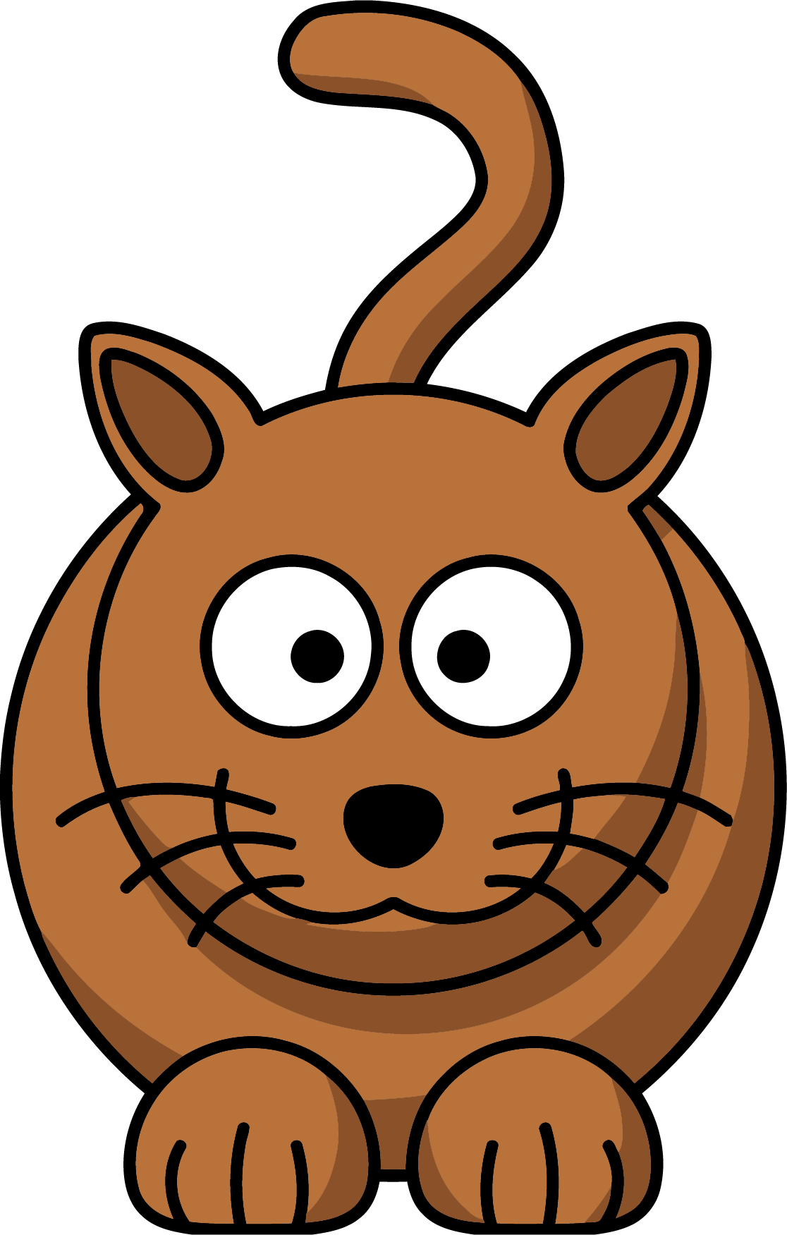 Cat on the table clipart png freeuse stock Brown Cat Clipart Png | Clipartly.com png freeuse stock
