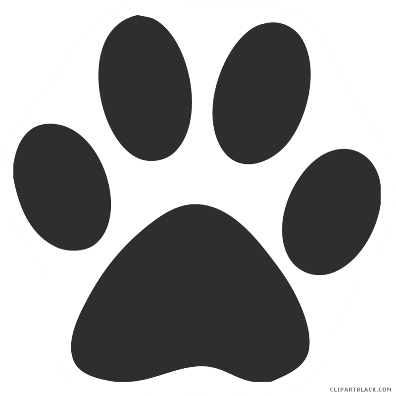 Clipart paw print cat library Cat Paw Print Clipart - Page 2 of 2 - ClipartBlack.com library